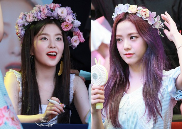 Bàn cân visual giữa Irene (Red Velvet) và Jisoo (Black Pink): makeup và làm tóc giống hệt, nhưng ai hơn ai? - Ảnh 6.