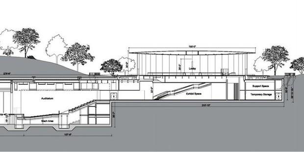 Sợ bị sao chép, Apple đăng ký luôn bản quyền thiết kế Nhà hát Steve Jobs - nơi sẽ trình làng iPhone mới sắp tới - Ảnh 1.