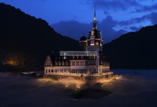 Hé lộ về chủ nhân kín tiếng của tòa lâu đài tráng lệ 400 tỷ trên đỉnh Tam Đảo - Ảnh 1.