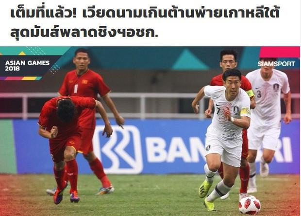 Truyền thông châu Á tiếc nuối, mong Olympic Việt Nam giành HC đồng - Ảnh 2.