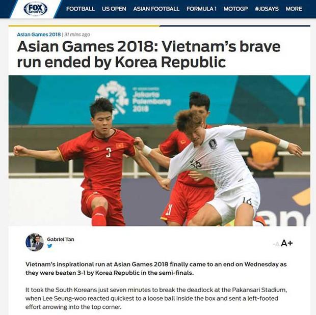 Truyền thông châu Á tiếc nuối, mong Olympic Việt Nam giành HC đồng - Ảnh 3.