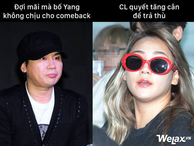 Từ CL thành XL gây sốc, chị Đại mũm mĩm của 2NE1 vẫn được netizen yêu thương và mong CL không bị quá stress - Ảnh 5.