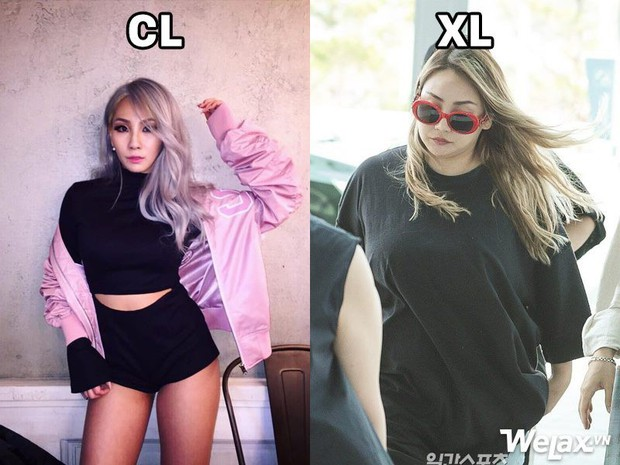 Từ CL thành XL gây sốc, chị Đại mũm mĩm của 2NE1 vẫn được netizen yêu thương và mong CL không bị quá stress - Ảnh 2.
