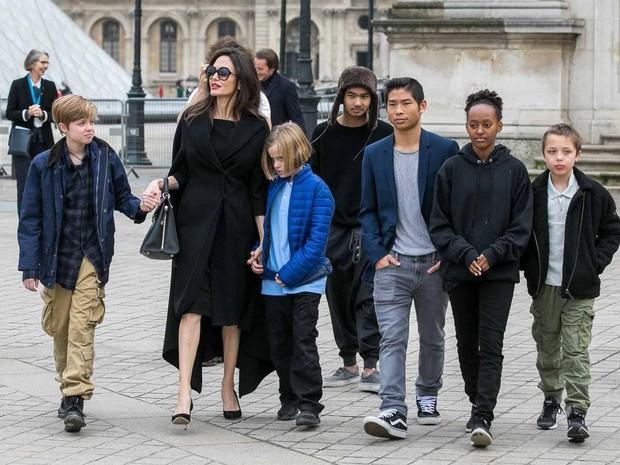 Brad Pitt cảm thấy thế nào khi Angelina Jolie bị đồn sắp nhận nuôi đứa con thứ 7? - Ảnh 1.