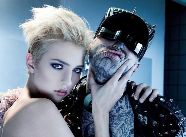 Xem lại bộ hình ấn tượng mà chàng mẫu Zombie Boy chụp cùng thí sinh Next Top Đức trước khi qua đời - Ảnh 9.