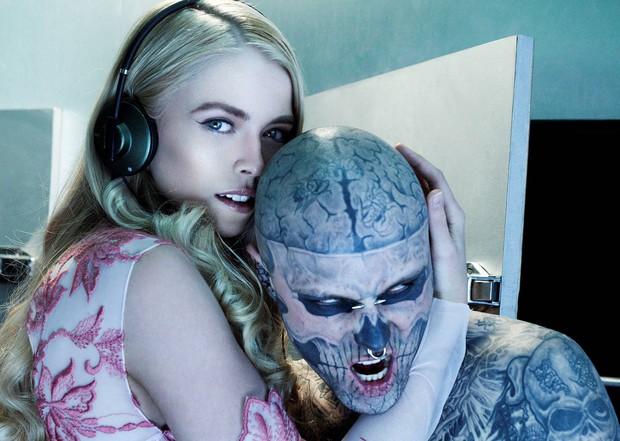 Xem lại bộ hình ấn tượng mà chàng mẫu Zombie Boy chụp cùng thí sinh Next Top Đức trước khi qua đời - Ảnh 2.