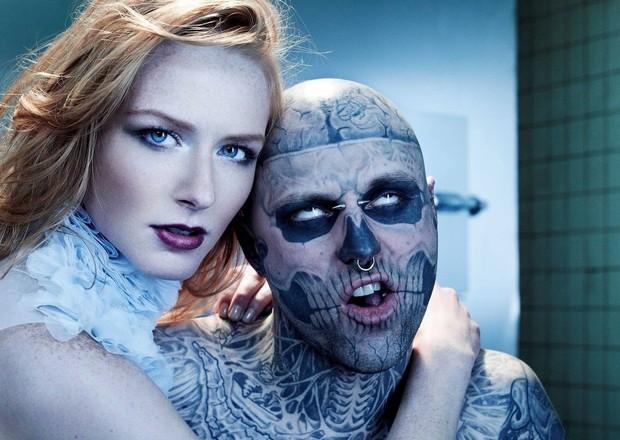 Xem lại bộ hình ấn tượng mà chàng mẫu Zombie Boy chụp cùng thí sinh Next Top Đức trước khi qua đời - Ảnh 1.