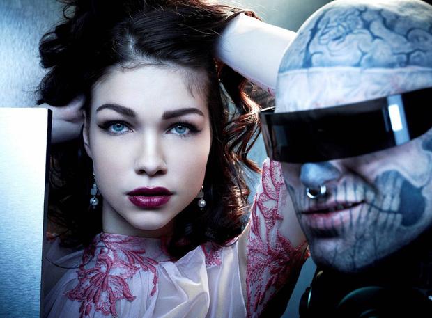Xem lại bộ hình ấn tượng mà chàng mẫu Zombie Boy chụp cùng thí sinh Next Top Đức trước khi qua đời - Ảnh 6.