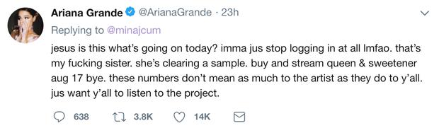 Quyết giữ quan hệ chị em với Nicki Minaj, Ariana đã có hành động bất ngờ này! - Ảnh 3.