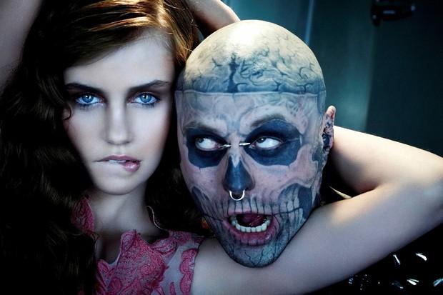 Xem lại bộ hình ấn tượng mà chàng mẫu Zombie Boy chụp cùng thí sinh Next Top Đức trước khi qua đời - Ảnh 5.