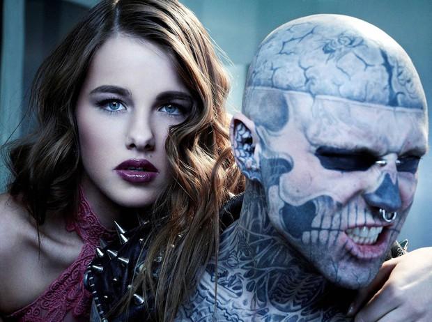Xem lại bộ hình ấn tượng mà chàng mẫu Zombie Boy chụp cùng thí sinh Next Top Đức trước khi qua đời - Ảnh 10.