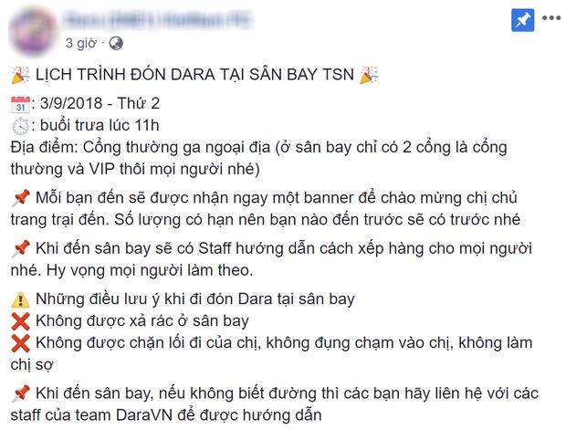 Rộ tin Dara quay lại Việt Nam sau 2 năm 2NE1 tan rã, thậm chí đã rò rỉ cả lịch bay vào tháng 9 tới? - Ảnh 1.
