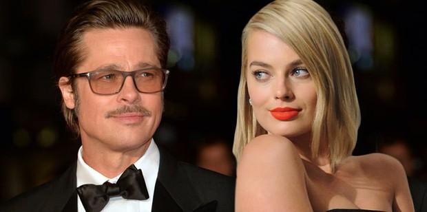 Brad Pitt bị dằn mặt vì dòm ngó người đẹp Harley Quinn đã có chồng? - Ảnh 2.