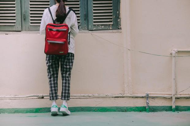 Ở Hà Nội có 1 ngôi trường mà đến cái thùng rác cũng là 1 góc sống ảo so deep - Ảnh 14.