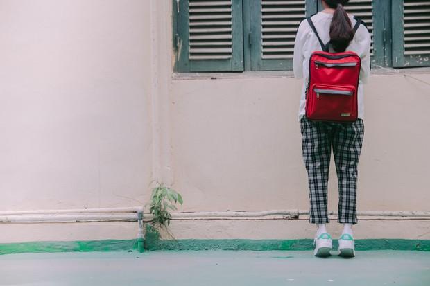 Ở Hà Nội có 1 ngôi trường mà đến cái thùng rác cũng là 1 góc sống ảo so deep - Ảnh 15.