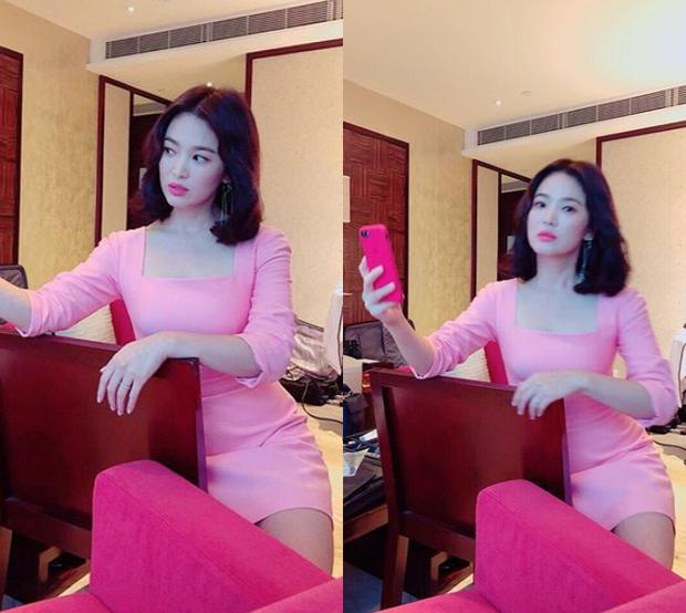 Ảnh fan chụp vội đã đẹp, Song Hye Kyo còn khiến dân tình thêm phần náo loạn bằng loạt hình selfie quá xuất sắc - Ảnh 3.