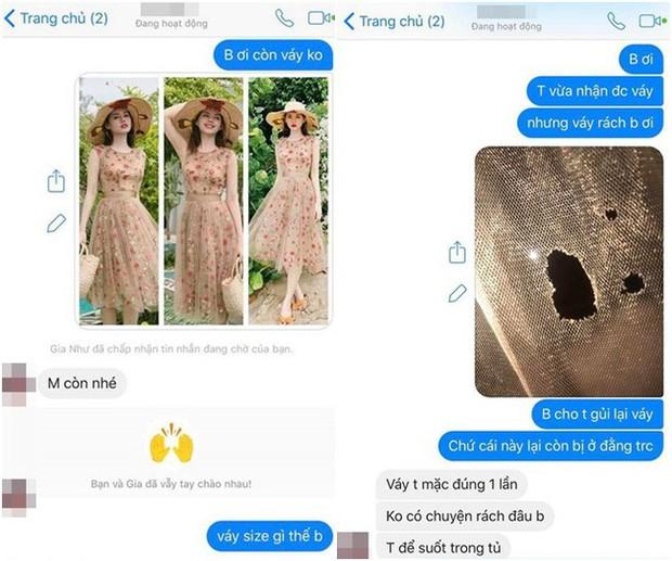 Đỉnh cao bán hàng online: Một chiếc váy cũ nhưng bán tận 3 lần - 2 người mất không tiền, kẻ còn lại nhận đồ rách - Ảnh 2.