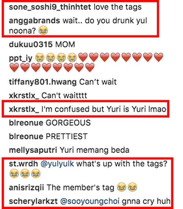 Cố tình đăng ảnh thành viên này tag loạn xạ instagram thành viên khác, Yuri (SNSD) bị fan vào trêu: Ủa chị say hả?  - Ảnh 6.