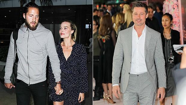 Brad Pitt bị dằn mặt vì dòm ngó người đẹp Harley Quinn đã có chồng? - Ảnh 1.
