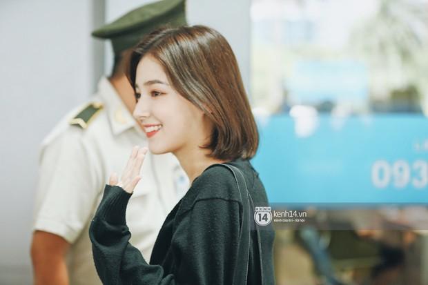 Nữ thần lai Nancy gây sốt vì quá đẹp, MOMOLAND và Monsta X khiến sân bay Tân Sơn Nhất vỡ trận - Ảnh 3.