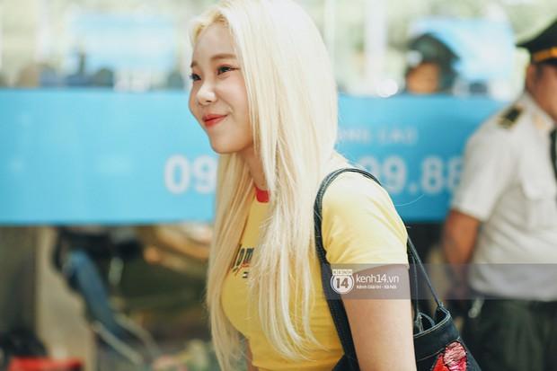 Nữ thần lai Nancy gây sốt vì quá đẹp, MOMOLAND và Monsta X khiến sân bay Tân Sơn Nhất vỡ trận - Ảnh 5.