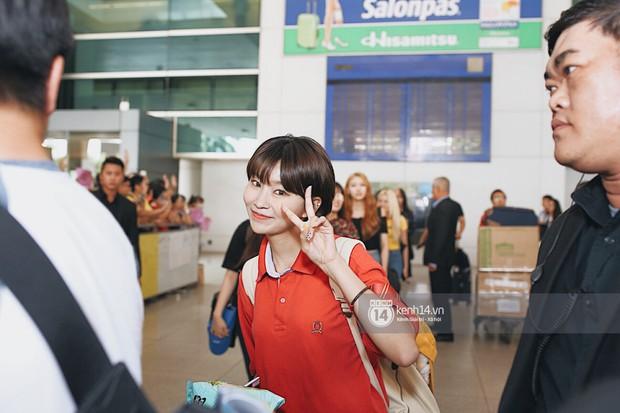 Nữ thần lai Nancy gây sốt vì quá đẹp, MOMOLAND và Monsta X khiến sân bay Tân Sơn Nhất vỡ trận - Ảnh 15.