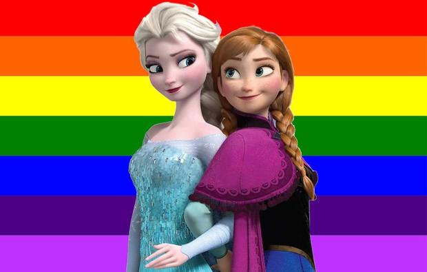 Elsa sẽ là công chúa Disney đồng tính nữ đầu tiên trong Frozen 2? - Ảnh 2.