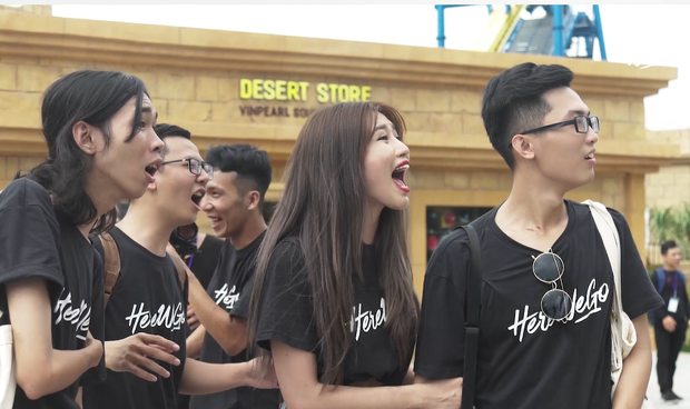 Here We Go: Jolie Nguyễn, Quỳnh Châu cười chọc quê khi Tôn Kinh Lâm làm vỡ bóng bay - Ảnh 7.