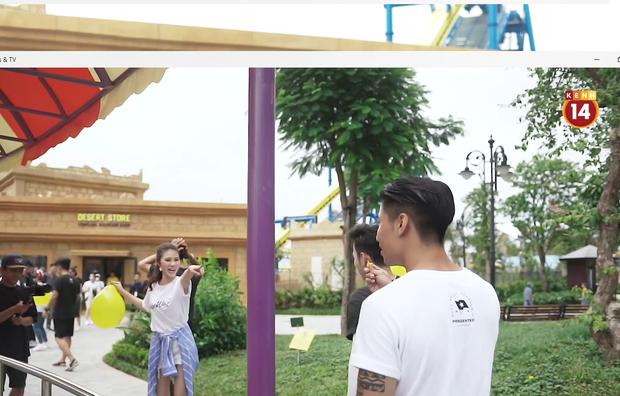 Here We Go: Jolie Nguyễn, Quỳnh Châu cười chọc quê khi Tôn Kinh Lâm làm vỡ bóng bay - Ảnh 9.