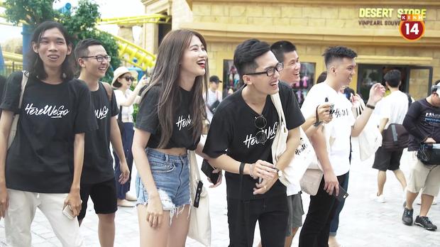 Here We Go: Jolie Nguyễn, Quỳnh Châu cười chọc quê khi Tôn Kinh Lâm làm vỡ bóng bay - Ảnh 8.