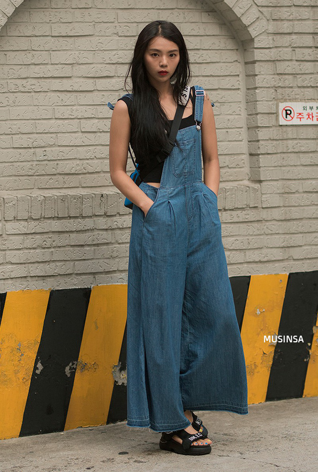 Bí kíp mặc đẹp của giới trẻ Hàn tuần qua gói gọn trong 2 thứ: quần cạp cao và sự đơn giản - Ảnh 10.