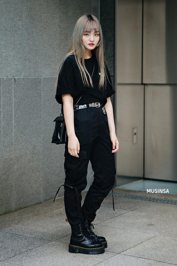 Bí kíp mặc đẹp của giới trẻ Hàn tuần qua gói gọn trong 2 thứ: quần cạp cao và sự đơn giản - Ảnh 5.