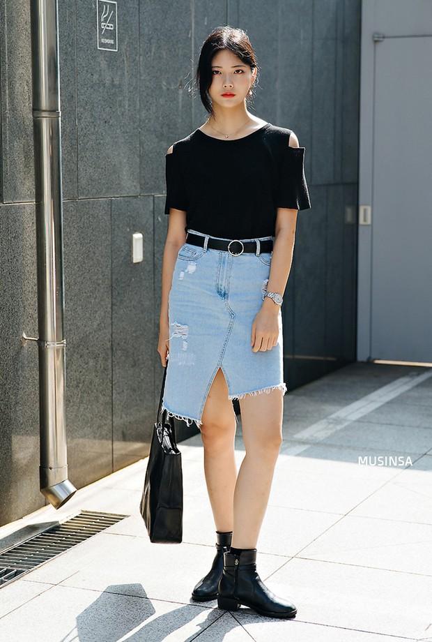 Bí kíp mặc đẹp của giới trẻ Hàn tuần qua gói gọn trong 2 thứ: quần cạp cao và sự đơn giản - Ảnh 8.