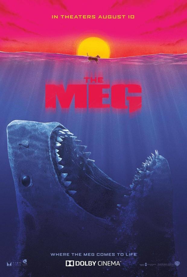 Hết hồn khi poster The Meg tính giá trị dinh dưỡng của người theo khẩu vị... cá mập - Ảnh 6.