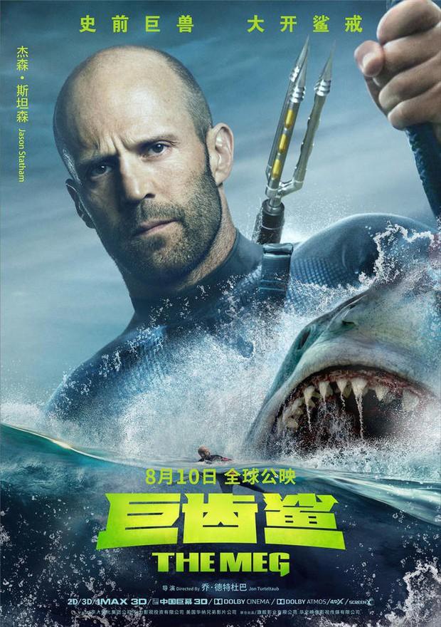 Hết hồn khi poster The Meg tính giá trị dinh dưỡng của người theo khẩu vị... cá mập - Ảnh 7.