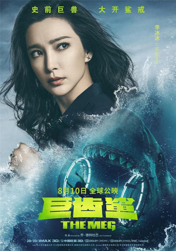 Hết hồn khi poster The Meg tính giá trị dinh dưỡng của người theo khẩu vị... cá mập - Ảnh 8.