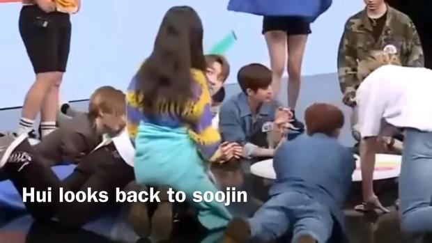 Đàn em chung nhà với Hyuna bị soi khoảnh khắc tình cảm trên show thực tế sau khi xác nhận chia tay - Ảnh 4.