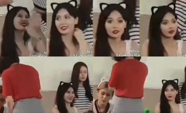 Góc soi: Nhìn bạn trai công khai thân mật với fangirl, Hyuna lật mặt như bánh tráng khi nhìn tình địch - Ảnh 6.