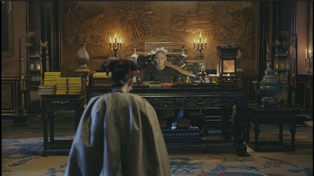 Diên Hi Công Lược tập 24: Phó Hằng bảo vệ Anh Lạc, bóp cổ Hòa Thân Vương  - Ảnh 10.