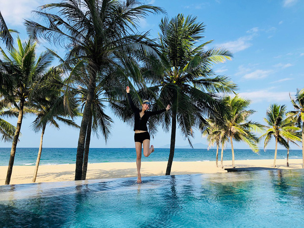 Tiểu thư xinh đẹp của tỷ phú Singapore Kim Lim bất ngờ check-in Đà Nẵng cùng hội bạn thân - Ảnh 6.