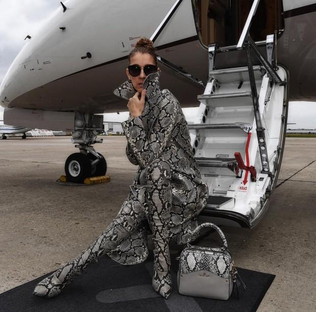 Đỉnh cao của lão hóa ngược: Đã 50 mà Celine Dion vẫn lên đồ siêu gắt, giới IT girl còn phải chạy dài! - Ảnh 6.