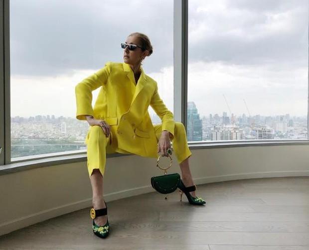 Đỉnh cao của lão hóa ngược: Đã 50 mà Celine Dion vẫn lên đồ siêu gắt, giới IT girl còn phải chạy dài! - Ảnh 7.