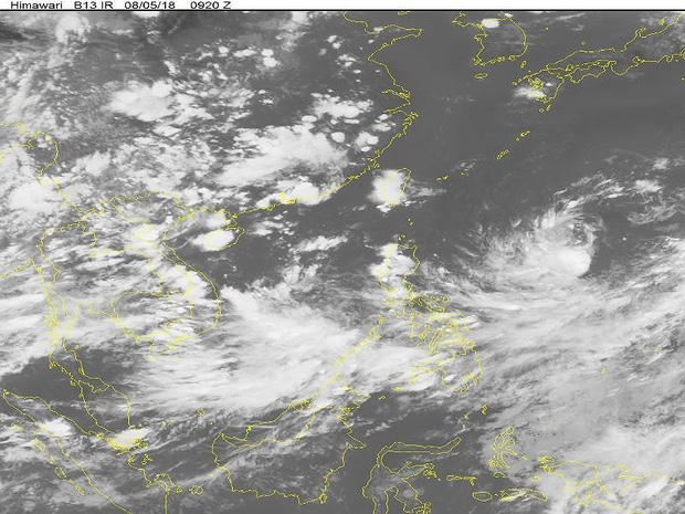 Mưa lớn chưa ngớt, lại xuất hiện áp thấp nhiệt đới trên biển - Ảnh 1.