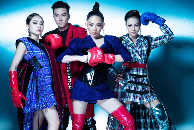 Top 3 Team Tóc Tiên cá tính, quyến rũ trong bộ hình ra mắt trước thềm vòng Chung kết Giọng hát Việt - Ảnh 2.