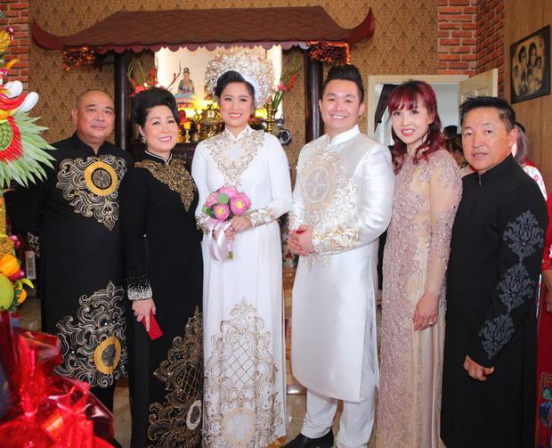 Thuý Ngân Gạo nếp gạo tẻ đến chung vui trong đám cưới của con gái nghệ sĩ Hồng Vân - Ảnh 5.