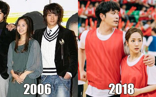 Duyên trời định giữa Park Min Young và nam idol Kpop: Quen nhau từ Gia đình là số một, 12 năm thì 3 lần tái hợp - Ảnh 1.