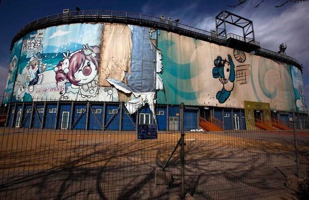 Trung Quốc 10 năm sau Thế Vận Hội 2008: Chỉ còn sân vận động Tổ Chim được sử dụng, các cơ sở vật chất khác đều bị bỏ hoang phế đến ám ảnh - Ảnh 5.