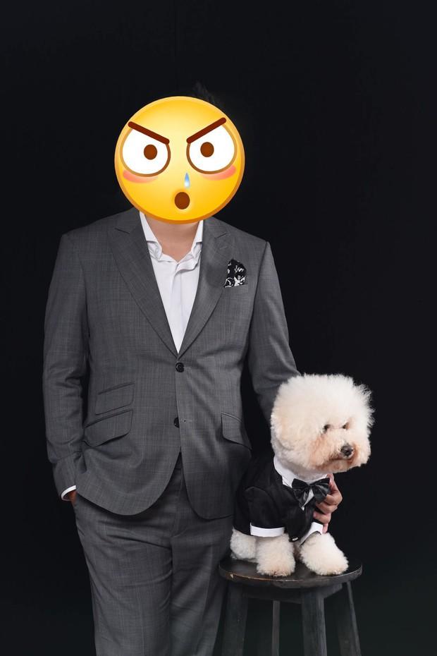 Theo sen đi chụp ảnh cưới, boss trở thành nhân vật chính với gương mặt sưng sỉa trong mọi khung hình - Ảnh 3.