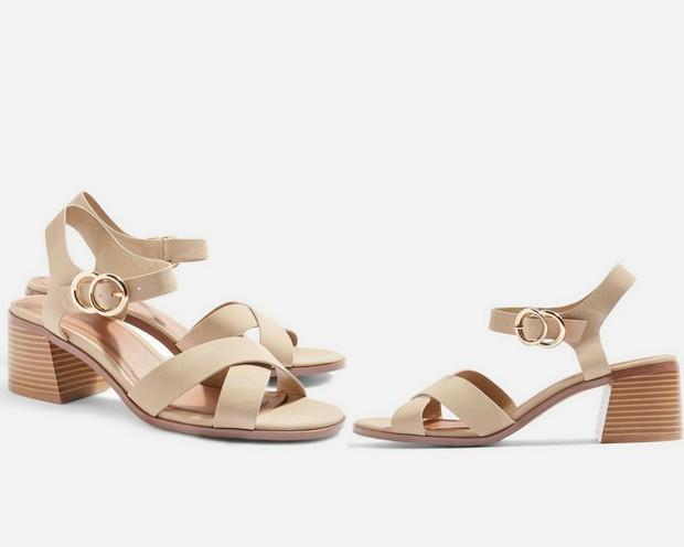 15 mẫu giày màu be đến từ Zara, H&M, Topshop vô cùng thanh lịch và trang nhã dành cho các quý cô công sở - Ảnh 12.