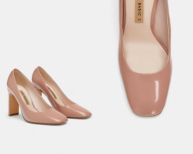 15 mẫu giày màu be đến từ Zara, H&M, Topshop vô cùng thanh lịch và trang nhã dành cho các quý cô công sở - Ảnh 3.